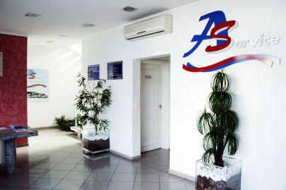 Estrutura da empresa AS Service - 2