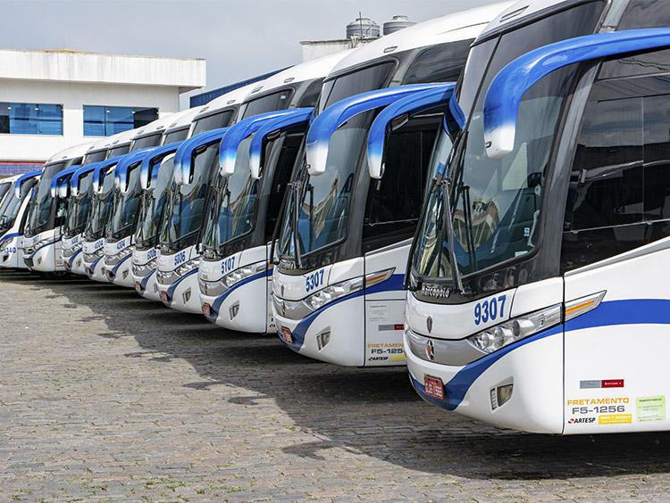 Fretamento de Ônibus - 2