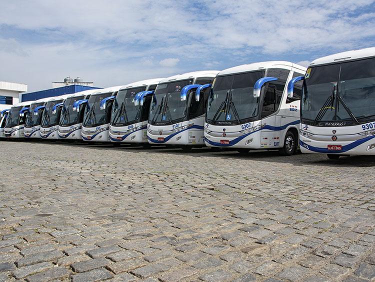 fretamento de ônibus em SP