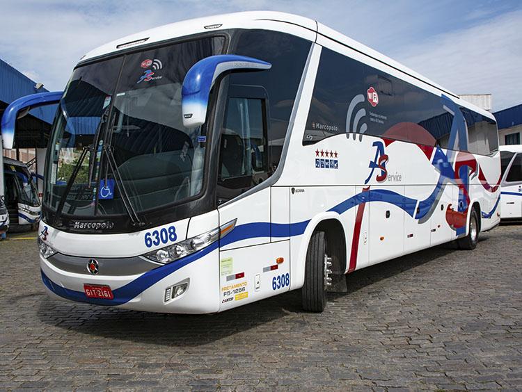 fretamento de ônibus preço