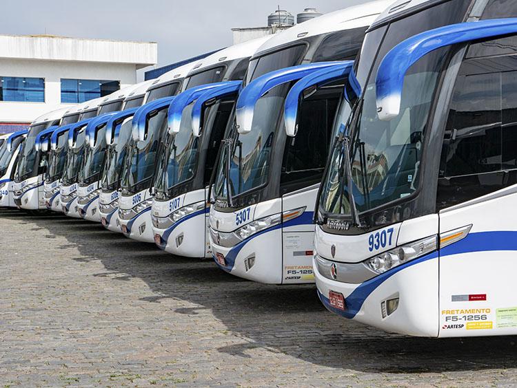 Fretamento de ônibus zona norte - 2