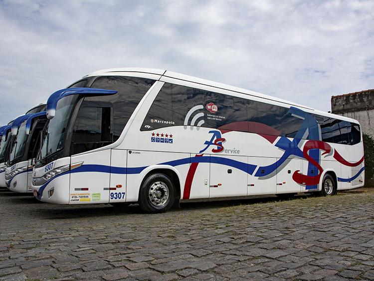 locação de ônibus