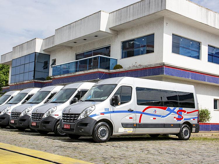locação de vans em SP